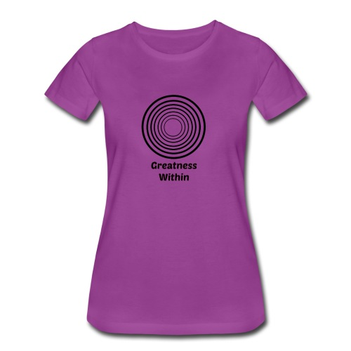 Greatness Within - Women's Premium T-Shirt
