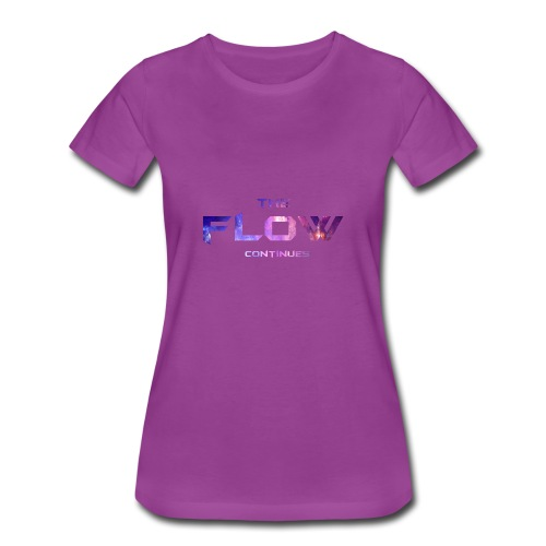 The Flow Continues Merchandise - Women's Premium T-Shirt