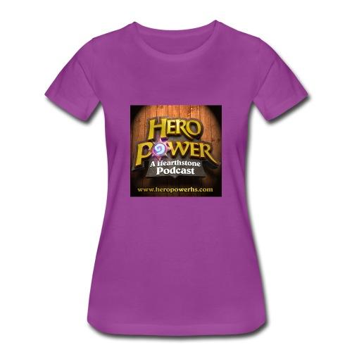 Hero Power iTunes Cover - Women's Premium T-Shirt