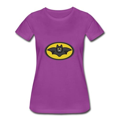 IAMBATMAN BEAM CHANNEL LOGO - Women's Premium T-Shirt
