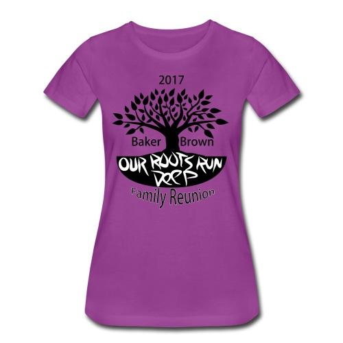 Baker Brown Family Reunion - Women's Premium T-Shirt