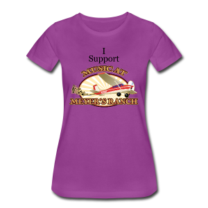 I Support - Music at Meyer's Ranch - Women's Premium T-Shirt