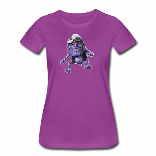 purple frog - Women's Premium T-Shirt