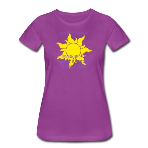 Tangled sun dream - Women's Premium T-Shirt