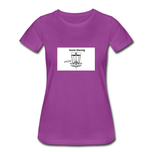 gone_discing - Women's Premium T-Shirt