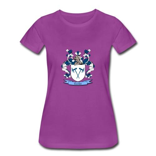Eccles Family Crest - Women's Premium T-Shirt