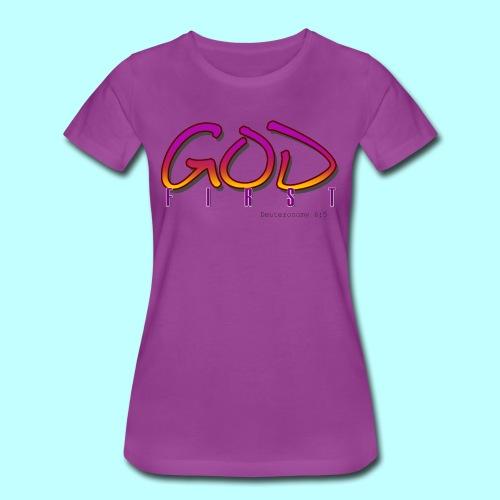 God First - Women's Premium T-Shirt