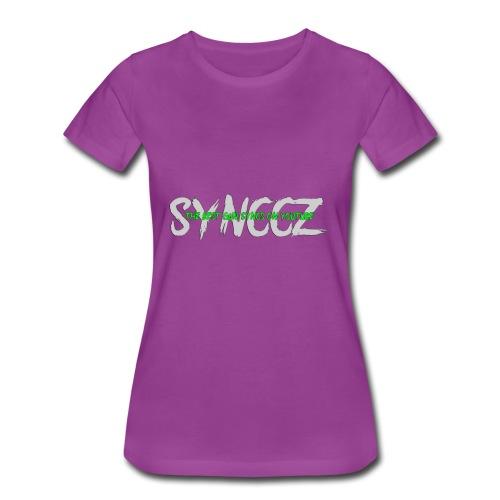 Scratchy Text - Women's Premium T-Shirt