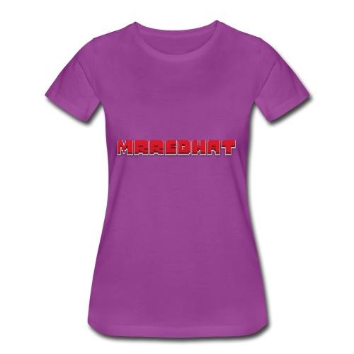 MrRedHat Plain Logo - Women's Premium T-Shirt
