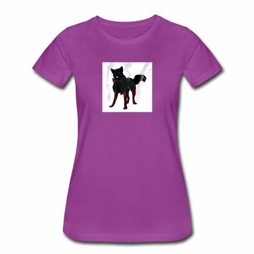 broken glass error dog - Women's Premium T-Shirt