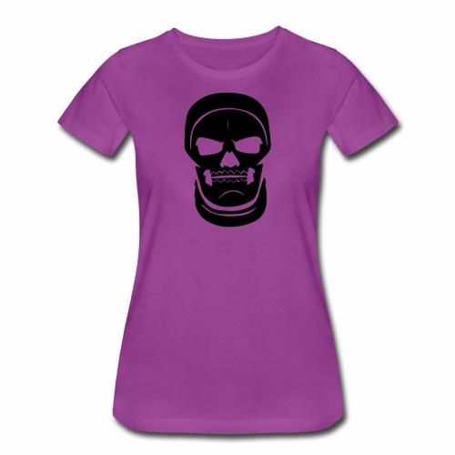 Skull Trooper Face - Fort nite Battle Royale - Women's Premium T-Shirt