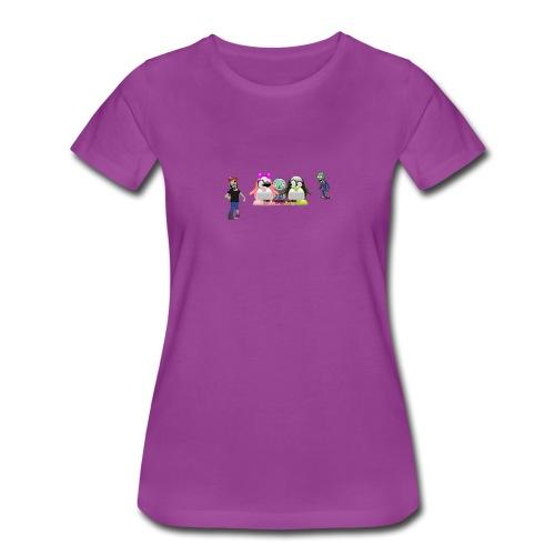 the gangs here - Women's Premium T-Shirt