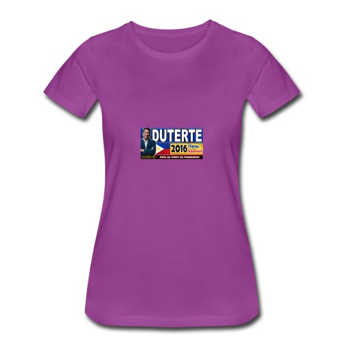 Duterte Icon - Women's Premium T-Shirt