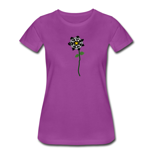 Daisy Flower 1 - Women's Premium T-Shirt