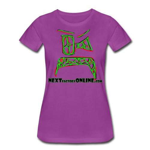 Zoink Upset Green Black Red NEXTfactoryOnline - Women's Premium T-Shirt