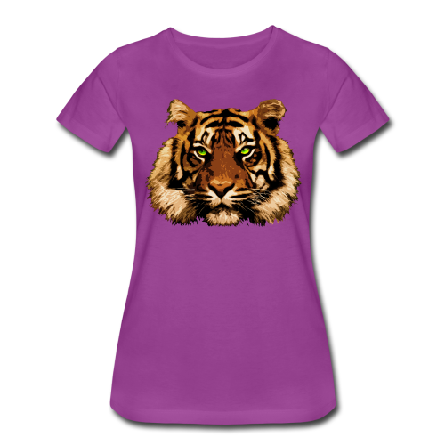 Tiger Thoughts - Women's Premium T-Shirt