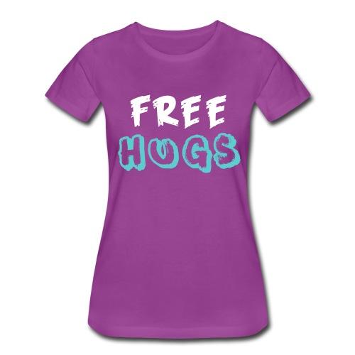 FREE + HUGS - Women's Premium T-Shirt