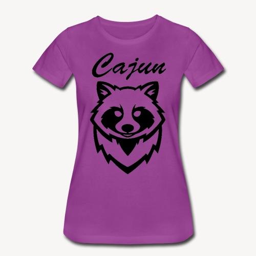 see throw cajun coon icon - Women's Premium T-Shirt