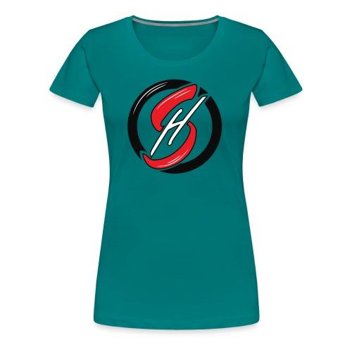 Arya Sahsouh Emblem - Women's Premium T-Shirt