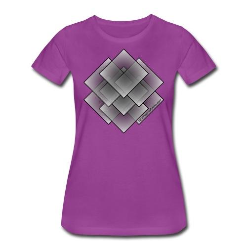 Seven Square - Grey Fill - NEXTfactoryOnline.com - Women's Premium T-Shirt