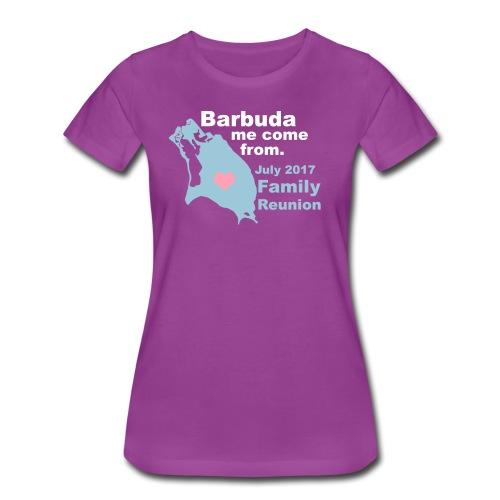 Barbuda Family Reunion - Women's Premium T-Shirt