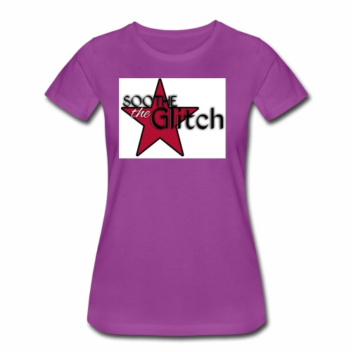 Soothe the glitch STAR LOGO - Women's Premium T-Shirt