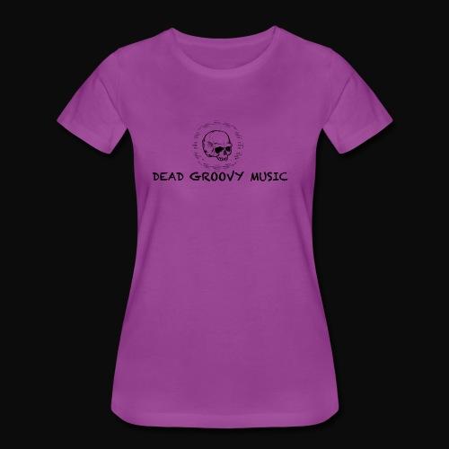 Dead Groovy Music - Basic Logo - Women's Premium T-Shirt