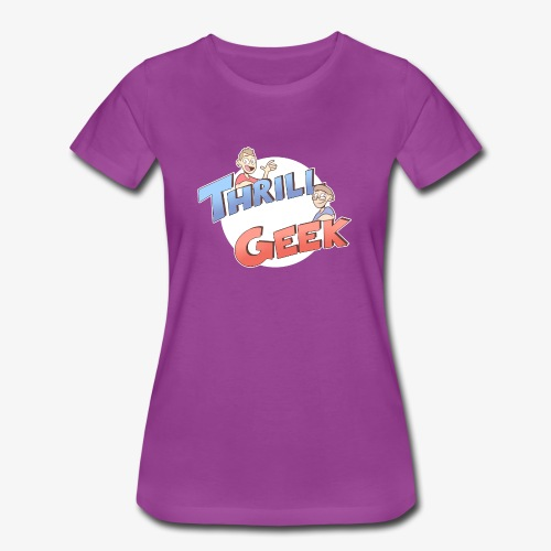 ThrillGeek Podcast Logo Shirt - Women's Premium T-Shirt
