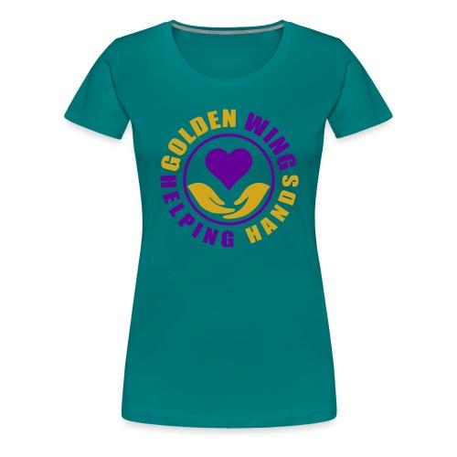 Golden Wing Helping Hands - Women's Premium T-Shirt
