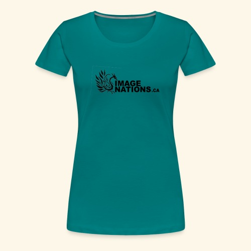 image nation Logo - Women's Premium T-Shirt
