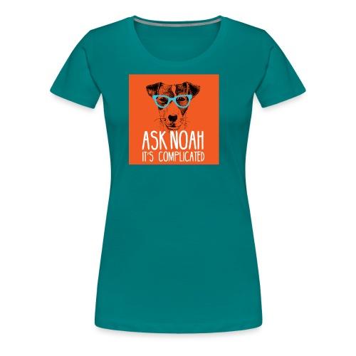 Ask Noah Christian Funk - Women's Premium T-Shirt