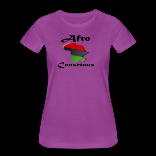 afro-conscious blk - Women's Premium T-Shirt