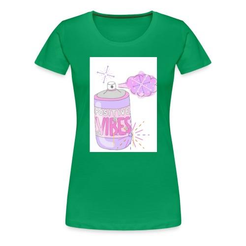 good vibes🤓💗 by @lovesaccessories - Women's Premium T-Shirt