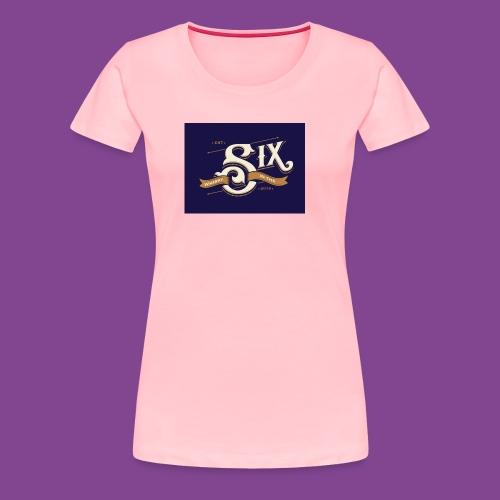 the 6 blue - Women's Premium T-Shirt