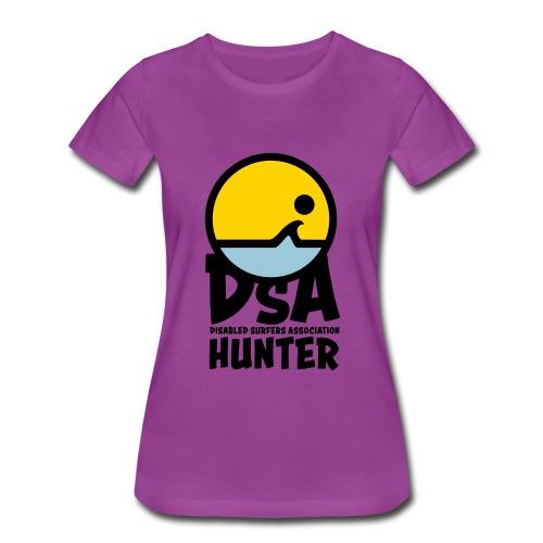 Disabled Surfers Association Hunter - Dark Logo - Women's Premium T-Shirt