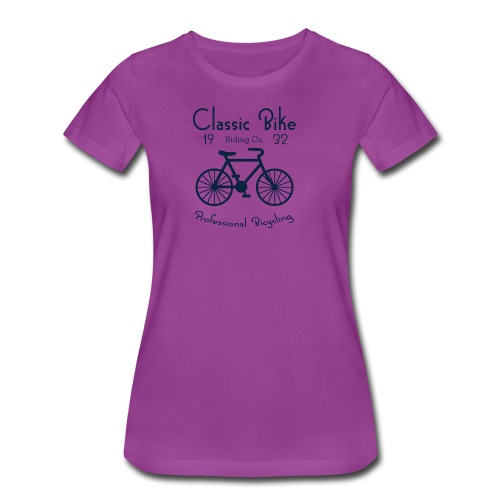 Classic Bike Professional Bicycling - Women's Premium T-Shirt