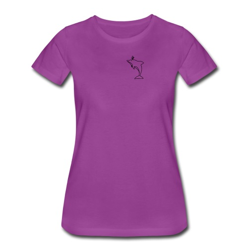 Pocket Dolphin Awesome Gift Idea for Dolphin Lover - Women's Premium T-Shirt