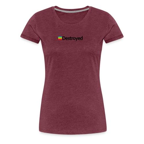 Polaroid Destroyed - Women's Premium T-Shirt