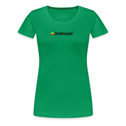 Polaroid Destroyed - Women's Premium T-Shirt
