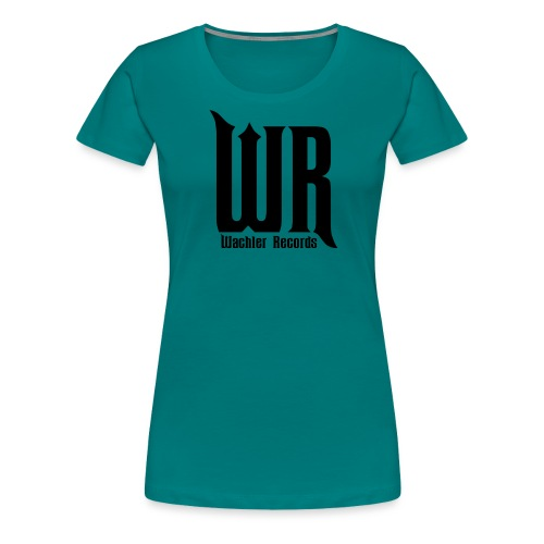 Wachler Records Dark Logo - Women's Premium T-Shirt