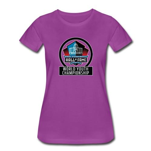 PFHOF World Youth Champ White Outline - Women's Premium T-Shirt