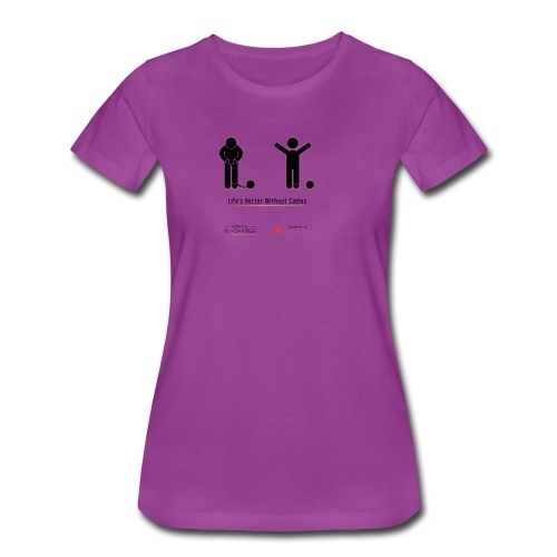 Life's better without cables: Prisoners - SELF - Women's Premium T-Shirt