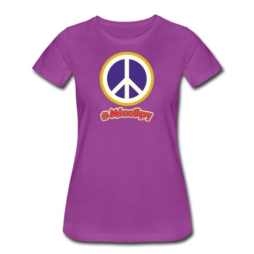 Fillmore Peace Explorer Badge - Women's Premium T-Shirt
