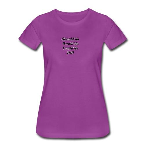 Did - Women's Premium T-Shirt