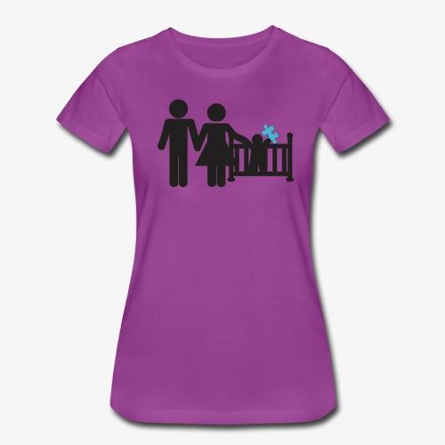 Family Autism Awareness - Women's Premium T-Shirt