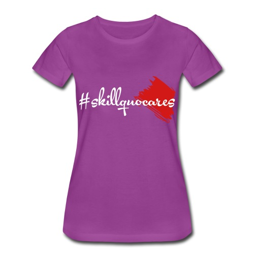 SkillQuo Cares - Women's Premium T-Shirt