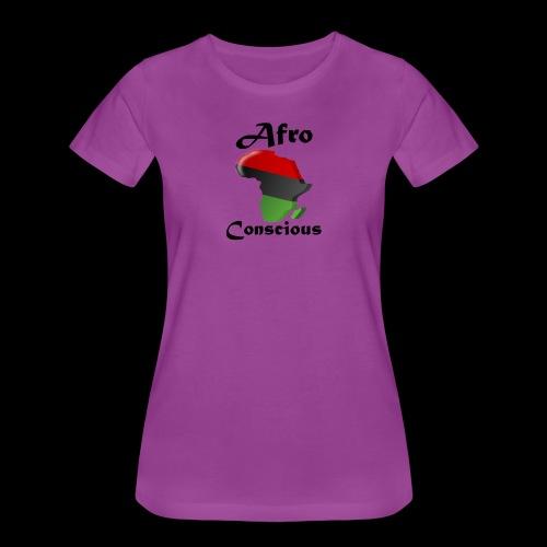 afro conscious black - Women's Premium T-Shirt