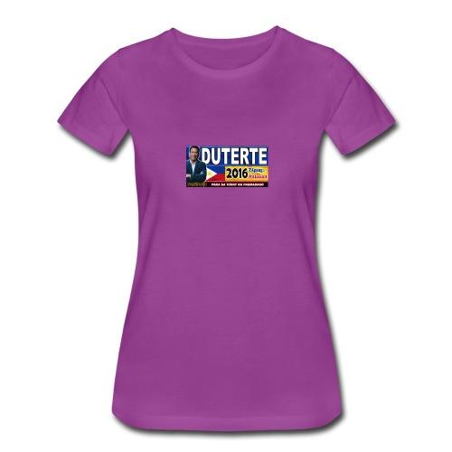 Duterte Icon - Women's Premium T-Shirt