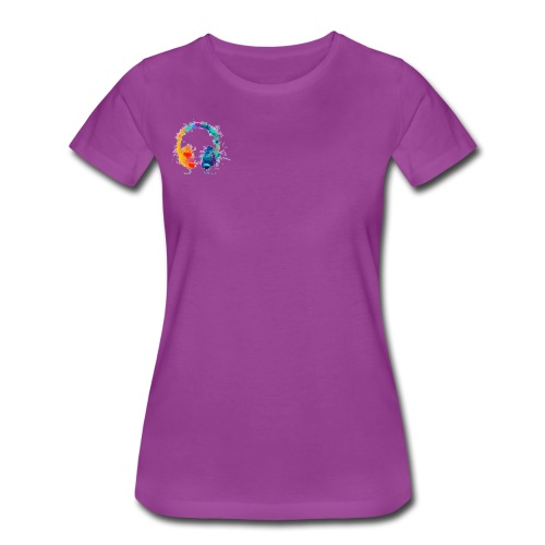 Colourful headset - Women's Premium T-Shirt