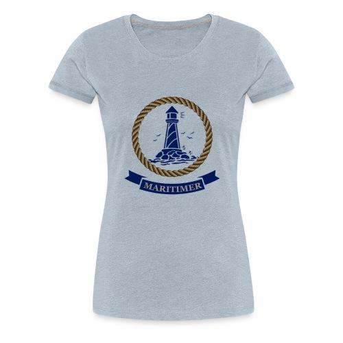 Maritimer Logo - Women's Premium T-Shirt